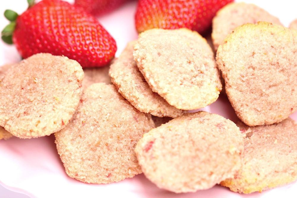 paleo and gluten free strawberry cookie recipe
