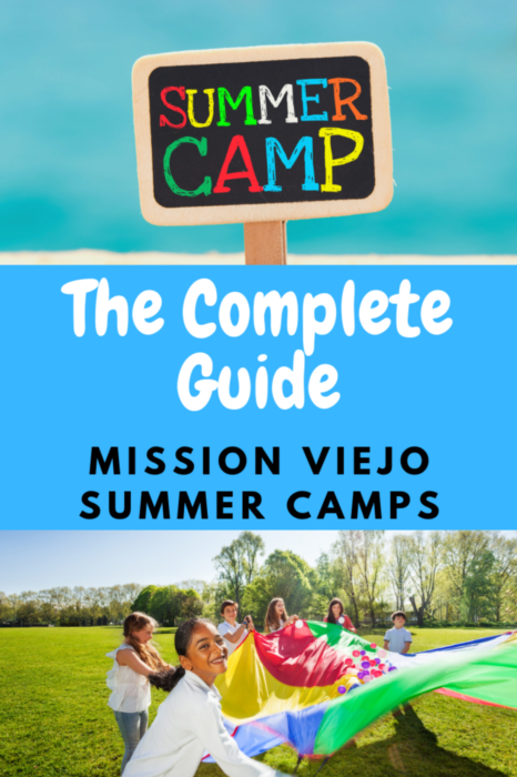 List of Mission Viejo Summer Camps