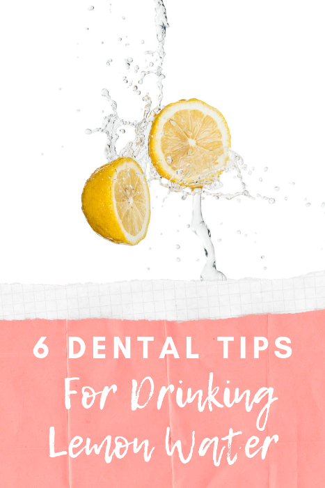 Can drinking lemon water effect the health of your teeth and enamel? Tips for protecting your teeth when drinking lemon water.