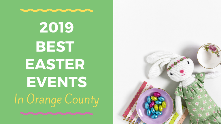 Here's a 2019 list of fun Easter events for kids and families in Mission Viejo and Orange County!