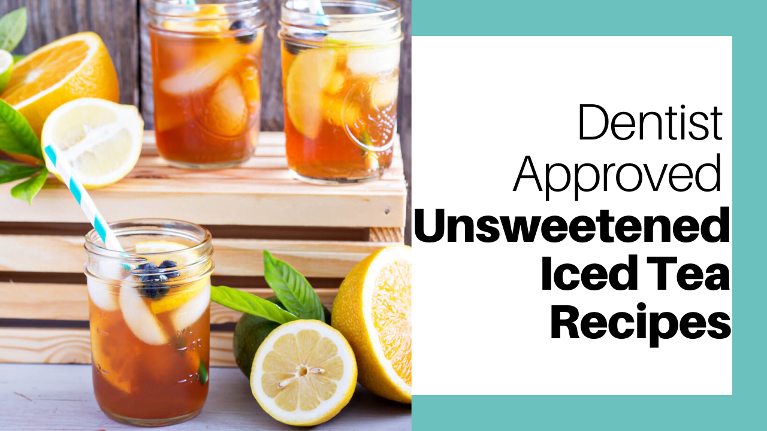 These unsweetened iced tea recipes use natural sugars for a flavorful, guilt free refreshment!