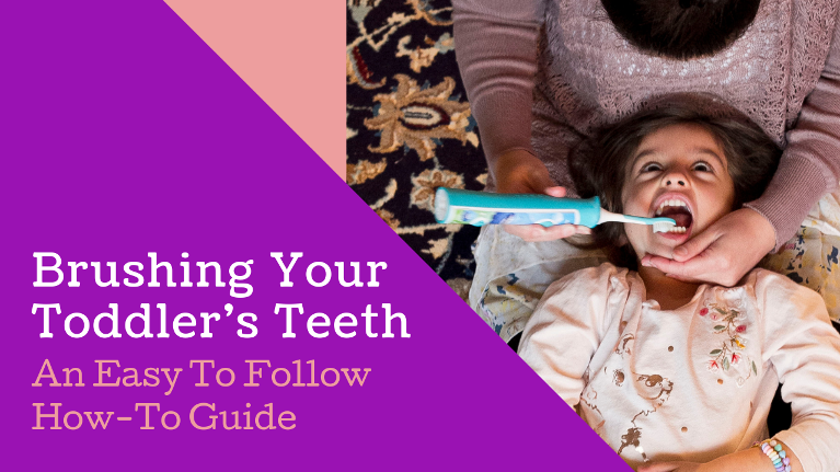 Do you want to know how to perform proper tooth care for your child, fun and easy brushing tips!