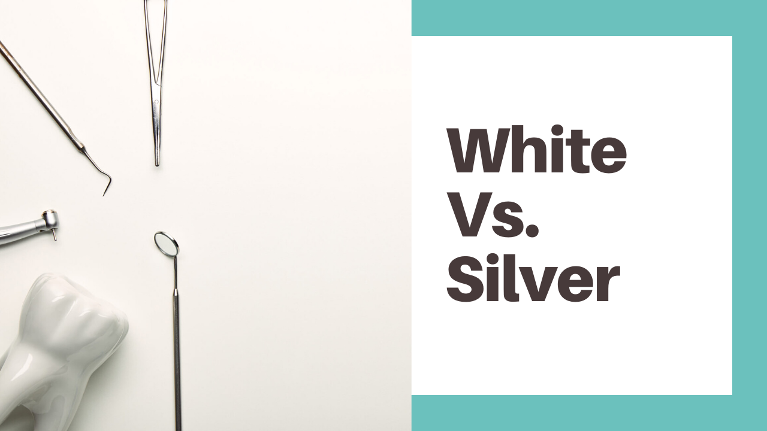 Do you ever wonder if white or silver is better for dental fillings?Let's talk pros and cons today.